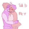 talk to me ♡