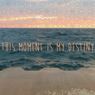 """""""This Moment is my Destiny"""""""