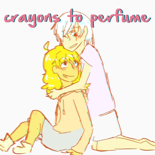 crayons to perfume