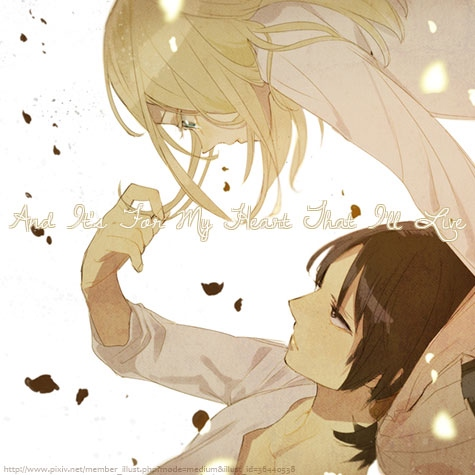 And It's For My Heart That I'll Live [a Historia/Ymir fanmix]