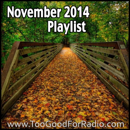 November 2014 Playlist (45 Free Songs)