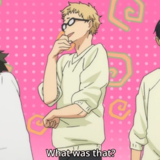 tsukishima eats ass