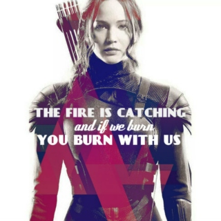 the fire is catching