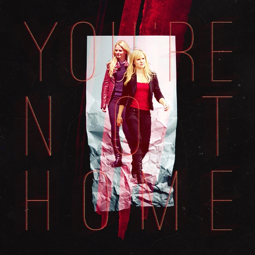 you're not home (abigail/heather)