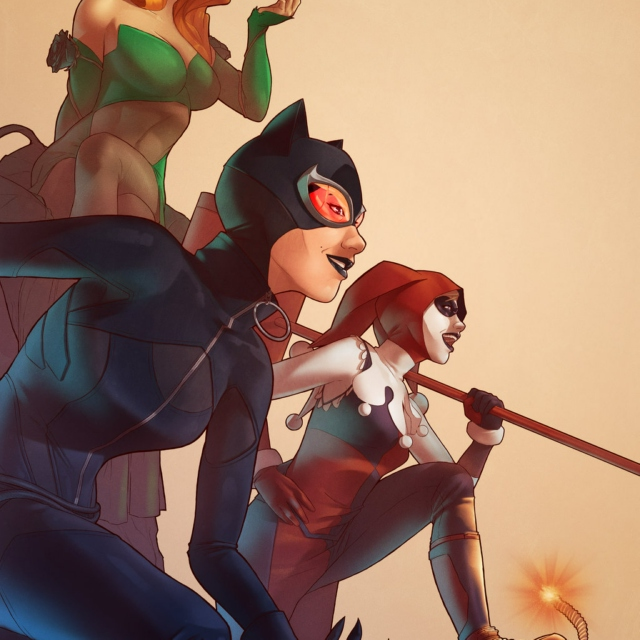 Gotham City Sirens/ Mad Love