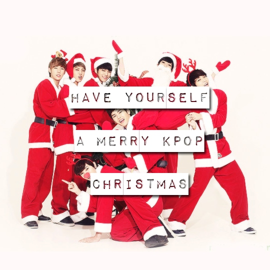 Have Yourself A Merry KPop Christmas (pt. 1)