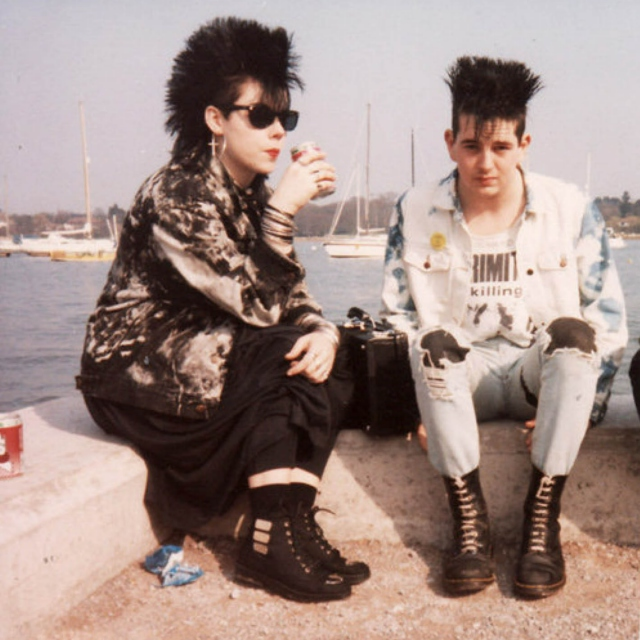 80's Goth Love Story