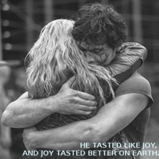 he tasted like joy, and joy tasted better on earth.