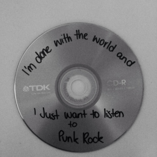 I do what I want, I'm punk rock