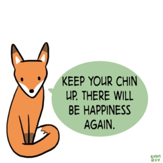 keep ur chin up kid