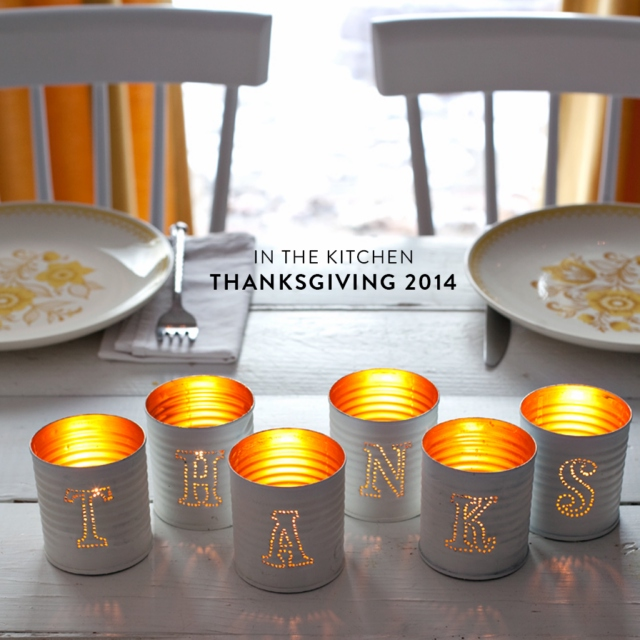 In the Kitchen: Thanksgiving 2014