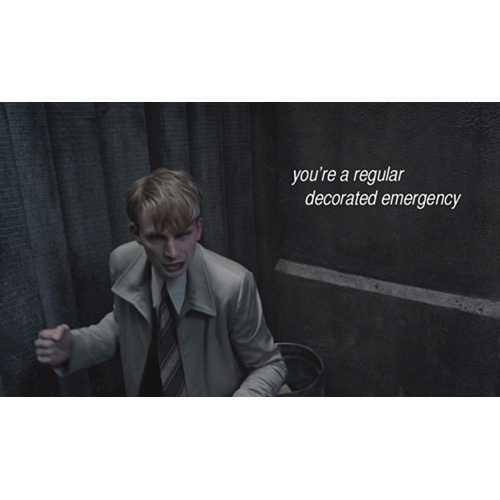 you're a regular decorated emergency
