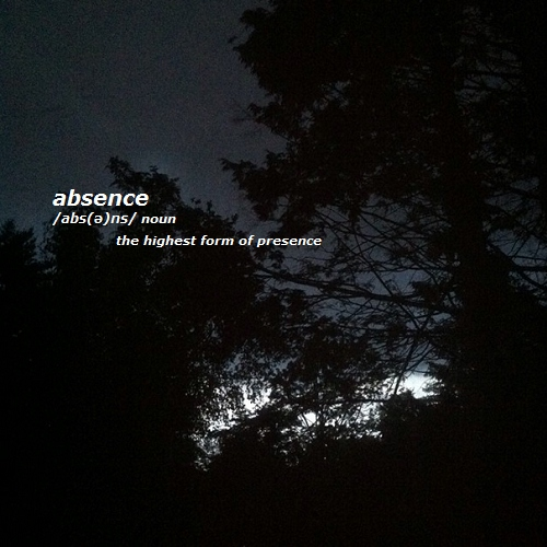 + absence +