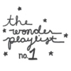 the wonder playlist no.1