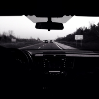 Driving with no place to go.