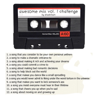 awesome mix vol. 1 challenge