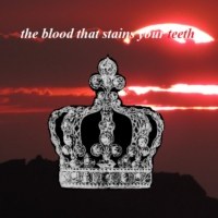 the blood that stains your teeth
