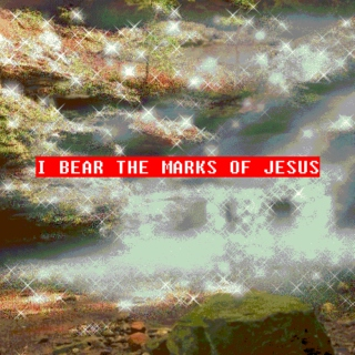I bear the marks of Jesus