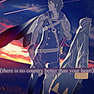 there is no country better than your heart.