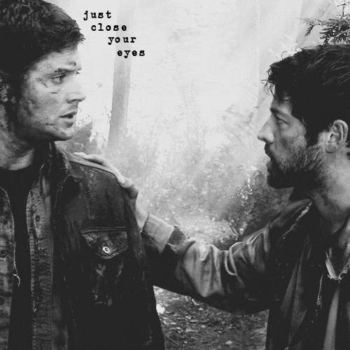 just close your eyes [an acoustic destiel mix]