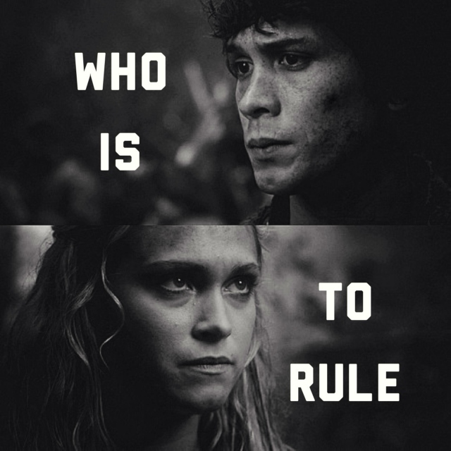 only one thing matters; who is to rule