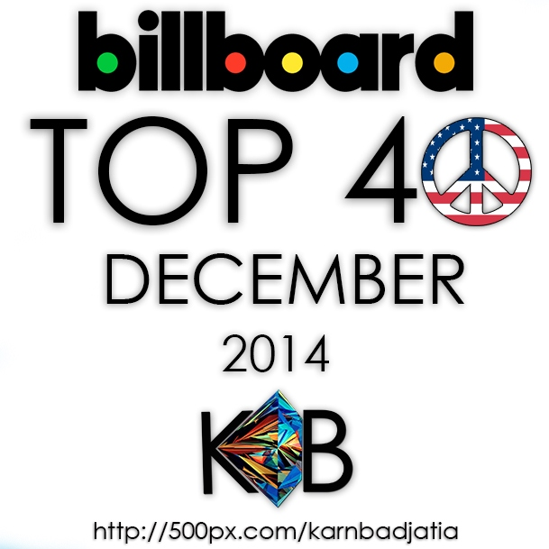 Billboard Top 40 (US) December 2014