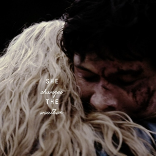 she changes the weather; bellarke