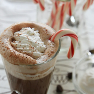 Candy Cane & Hot Chocolate