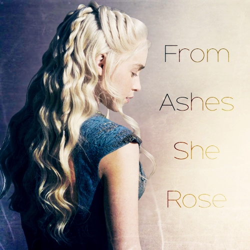 From Ashes She Rose