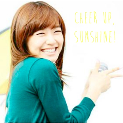 ☼ cheer up, sunshine! ☼