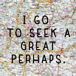 I Go To Seek A Great Perhaps
