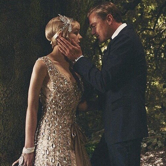 Gatsby looked at Daisy in a way that all young girls wanted to be looked at