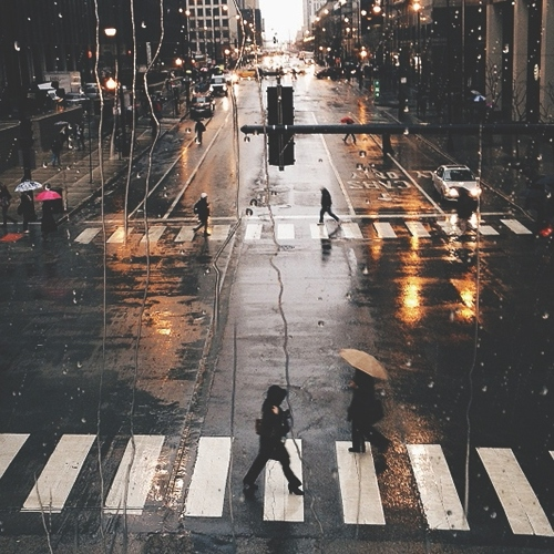 how i love when the rain comes II