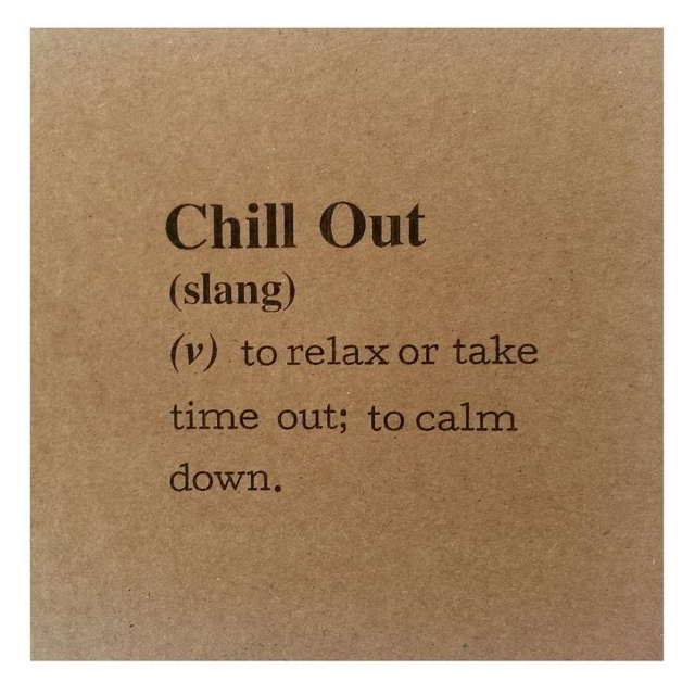 chill like ice.
