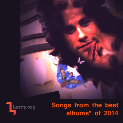 Songs from the best albums* of 2014
