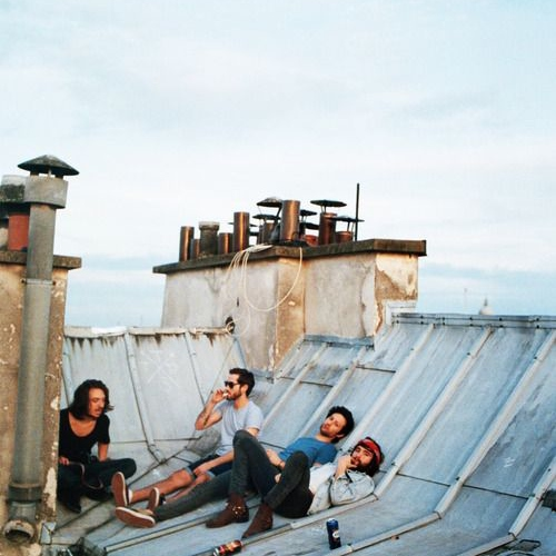 morning rooftop session