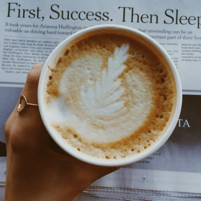 first, success. then sleep.