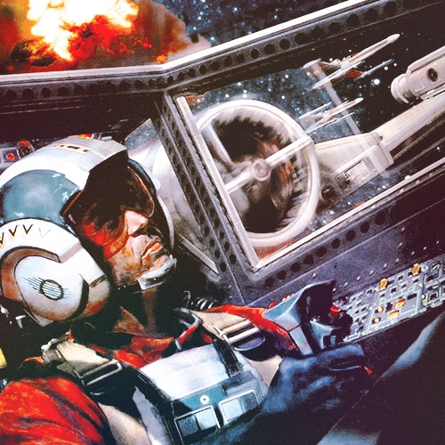 Cut The Chatter, Red Two (Wedge Antilles)