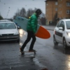 Surf in the Rain