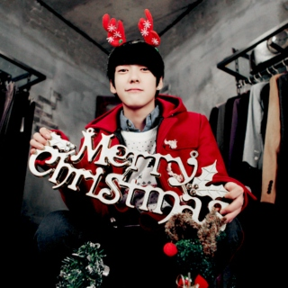Just like the Christmas day~