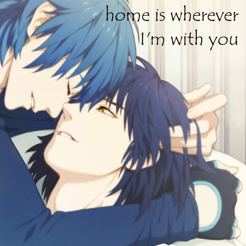 home is wherever I'm with you // Aoba x Ren