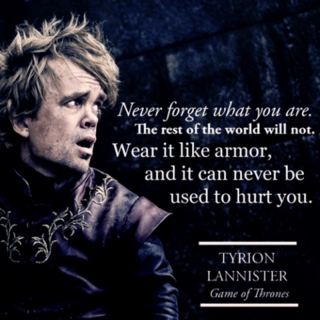 Wear It Like Armor: Tyrion Lannister Mix