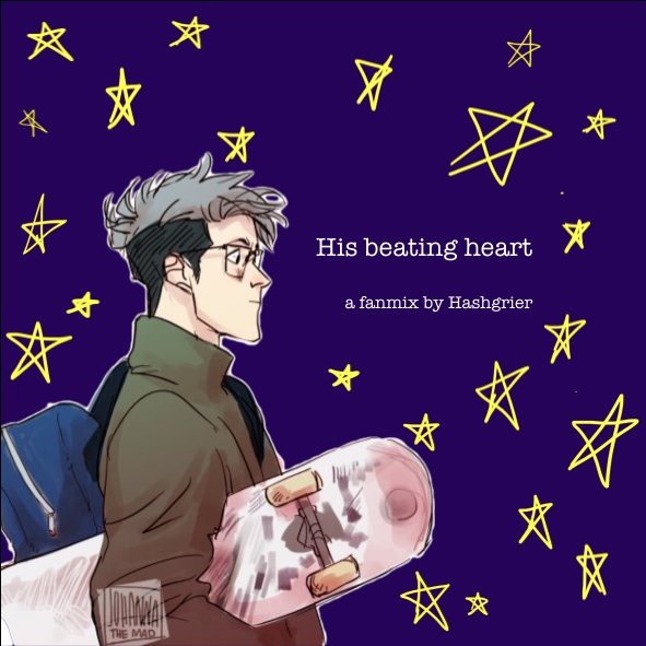 His beating heart