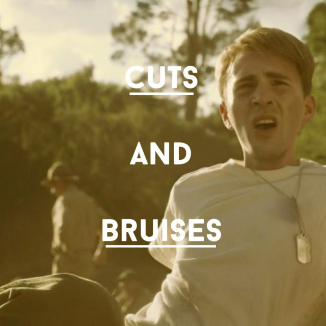 cuts and bruises
