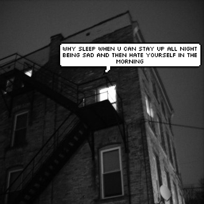 ☽ fire escape ☾