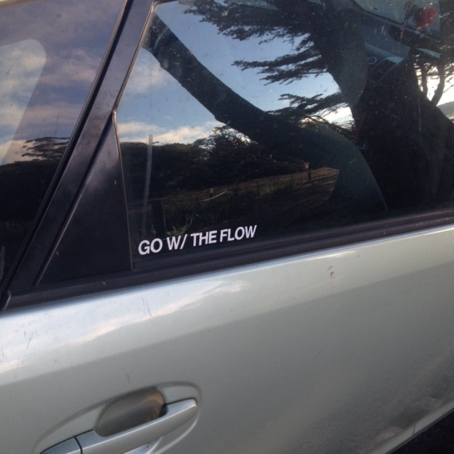 GO W/ THE FLOW