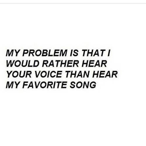 Your Voice Is My Favourite Song