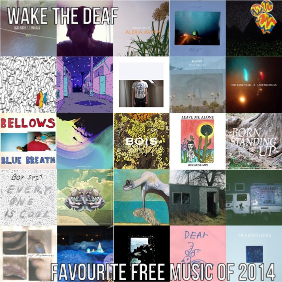 Favourite Free Music of 2014 (A-D)