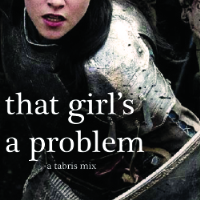 that girl's a problem