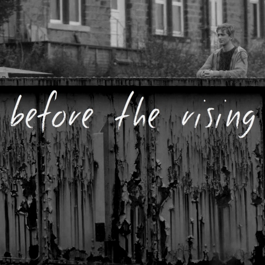before the rising